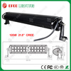 "Most popular 10-30VDC 6000k 21.5"" 120w aurora led off road light bar"