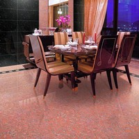 Trade Assurance Guangzhou Canton Fair 600X600 Navona Polished Porcelain Light Pink Floor Tile