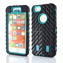 RICOO Technology Heavy Duty Tire Tread Armor Robot Hard Case Cover For iPhone 5/5S