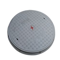 flower pot pvc manhole cover with sealing plate