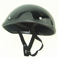 Half face Polo Novelty Motorcycle Half Helmet Black colour Made in China
