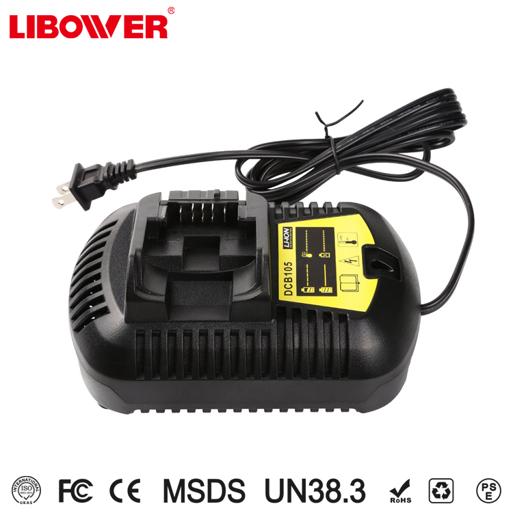 Libower manufacturer for dewalt battery charger li-ion 20V rechargeable fast charger compatible for DCB204/DCB180/DCB181/DCB182