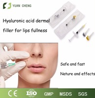 High quality hyaluronic acid filler injection for lips beauty filling deep 1ml