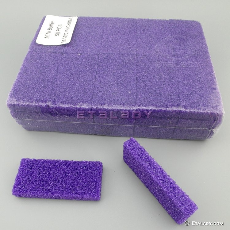 EL-D451-PP-2 disposable pumice sponge block