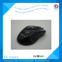 latest 2.4g new style cheap blue tooth laptop or pc slim wireless gaming mouse