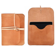 New brand portfolio case for ipad, Case for ipad with tie closure, Leather case for ipad china supplier