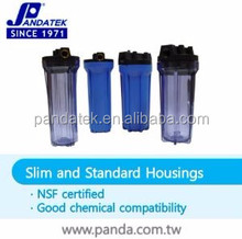 Taiwan 20 Inch plastic big blue Filter Cartridge housing for Water Treatment Plants