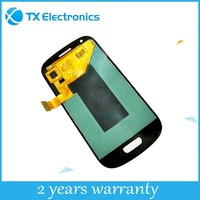 Wholesale touch screen digitizer replacement parts display assembly original lcd for samsung GALAXY S3 mini/I8190