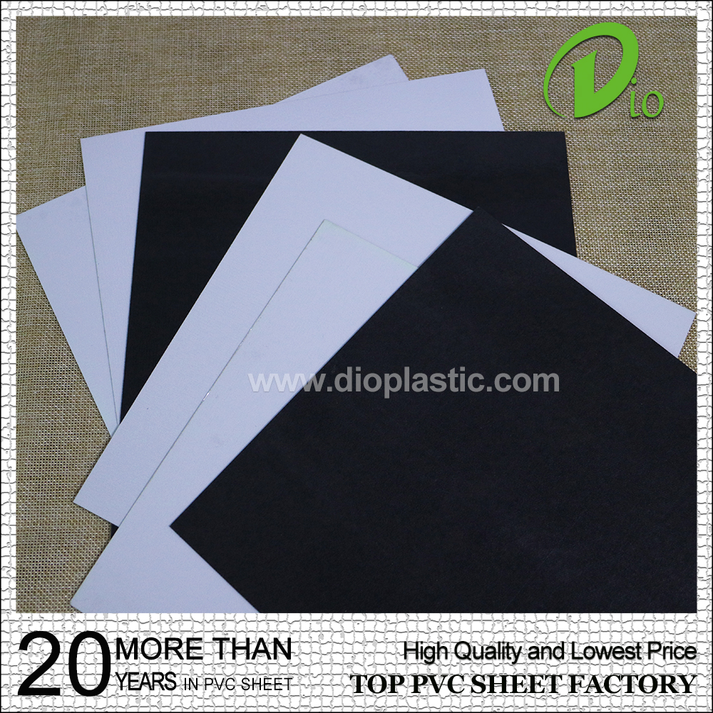 factory plastic for photo book 18*18cm pvc sheet with self adhesive