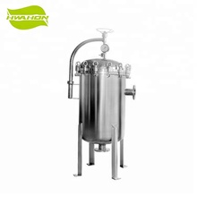 Industrial Stainless Steel Multi Bag Filter Housing for Water Filtration Equipment