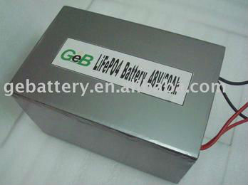 electric vehicles lifepo4 48V 20Ah battery