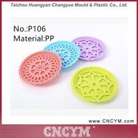 Hot Sale Different Types Multi-color Plastic Fruit plate pad