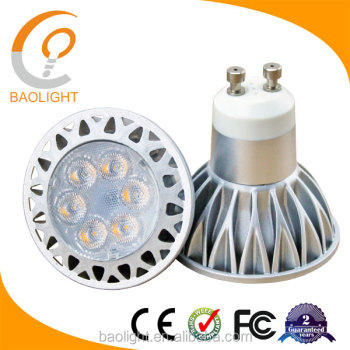 Gu10 Led 7w Warm White (3000k) Spot Light Bulb Lamp Equivalent To ...