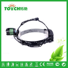 LED Head lamp 10w super bright 3 mode zoomable focus rotate headlight