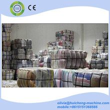 Alibaba manufacturer wholesale rags baling machine/used clothing compactor/cotton press machine