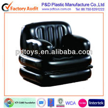 Durable black funny comfortable inflatable sectional sofa