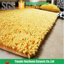 100% polyester microfiber rubber backed machine washable rugs