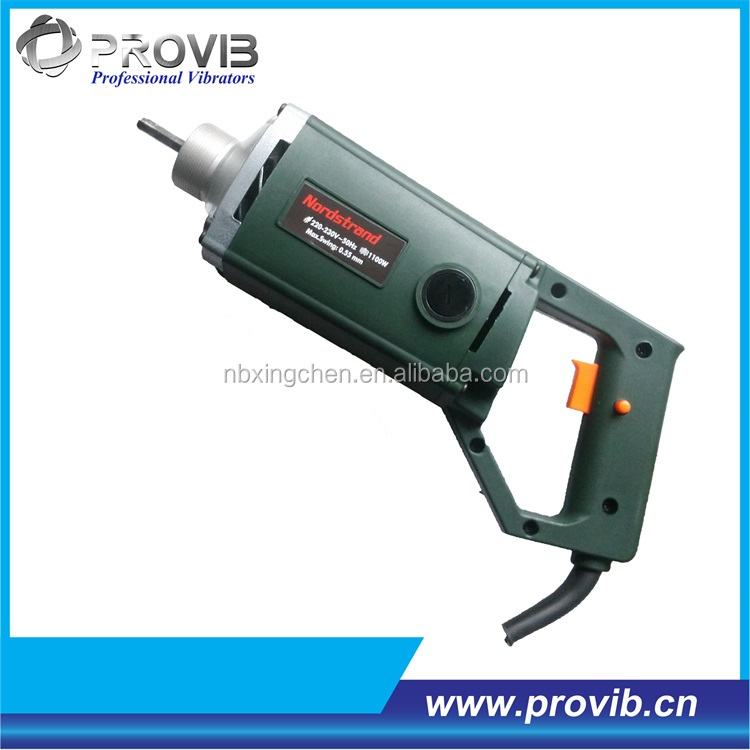 PV35 High speed electric portable concrete vibrator with CE cretificate