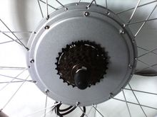 50km/h high Speed 30H Magnet 48v 1000w high power brushless Hub Motor