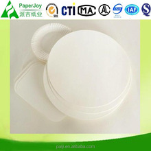 Food Grage Wood Pulp Paper Plate Raw Material For Disposable Paper Plate
