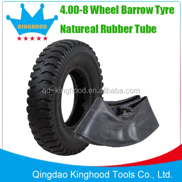 Wheel barrow tire 480/400-8 Air tire and Solid Tire