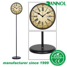 Top quality factory direct supplying modern home decoration floor standing retro clock