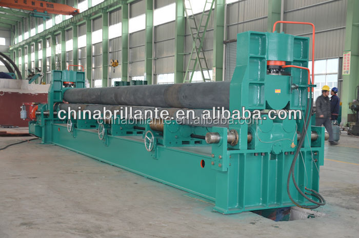 NANTONG: hydraulic 3-roller universal metal bending <strong>machine</strong>