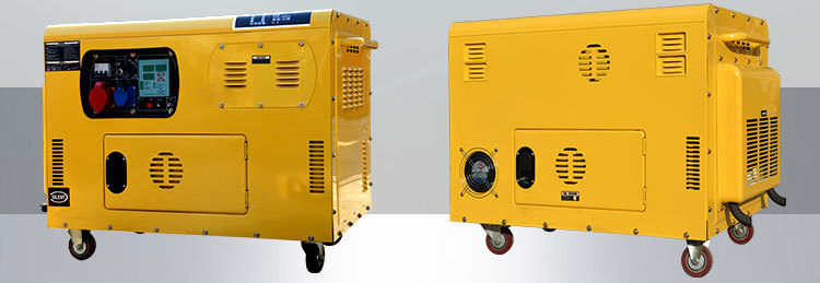 Hot sale noiseless 10 kva diesel generator sale