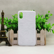 Real maple print covers for mobile phones 3d sublimation case for iphone x plain mobile cover