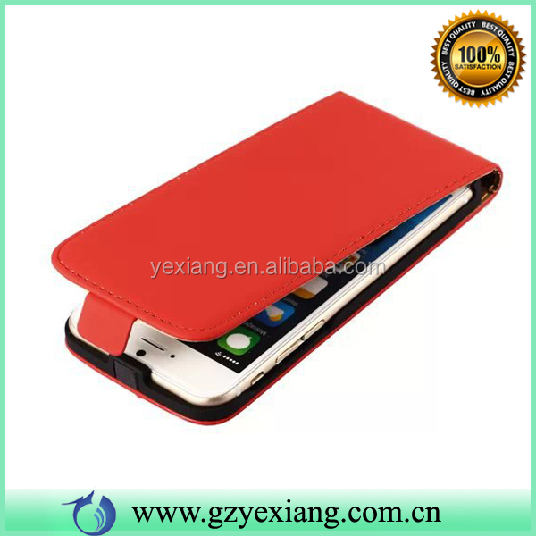 Korea Style Mobile Phone Magnetic Leather Flip Open Case For Iphone 6