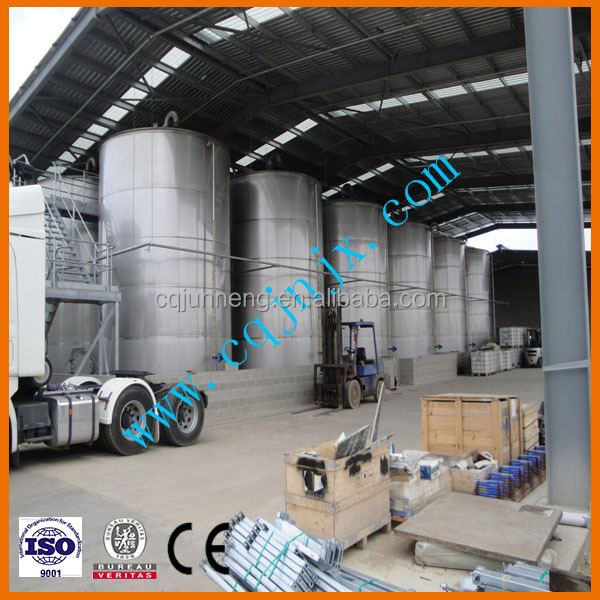 Used Car Oil Waste Truck Engine Oil Recovery Fully Production Line Type Converting to Diesel System Machine