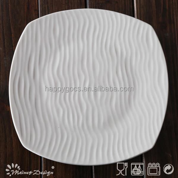 Wholesale Restaurant Porcelain Dinner Plate Ceramic Dinner Plates Stoneware D
