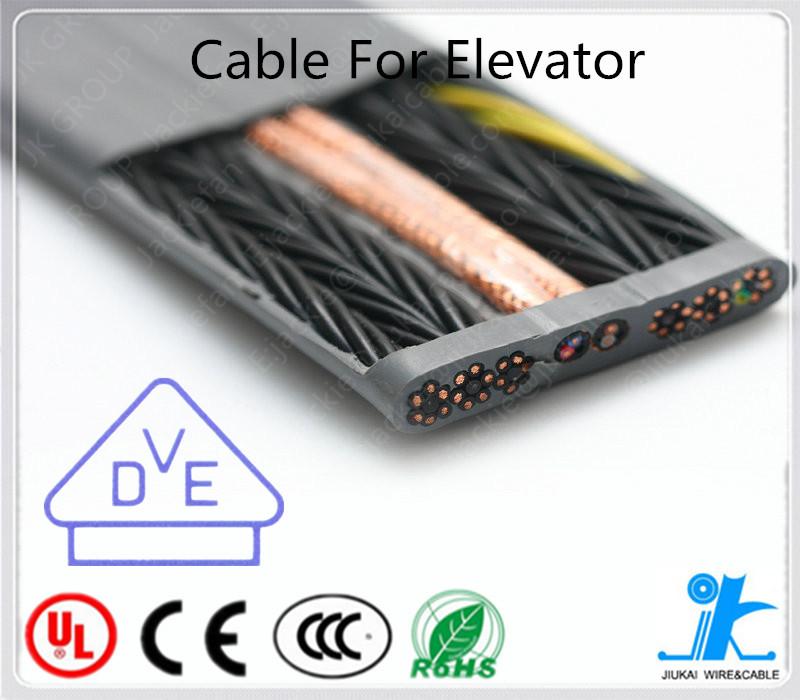 Flat Elevator Travel Cable H05vvh6-f Elevator Cable Elevators Parts ...