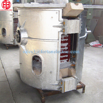 Smelting steel iron scrap coreless Medium Frequency Induction Melting Furnace