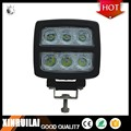 Reverse Polarity protected IP68 6500K 60w auto led auto work light with PC cover