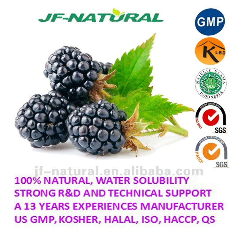 Mulberry fruit extract Anthocyanidin 25% GMP certificated