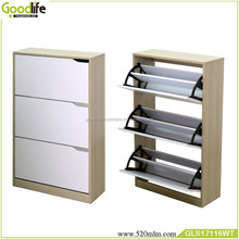 Goodlife modern wooden shoe cabinet for home use