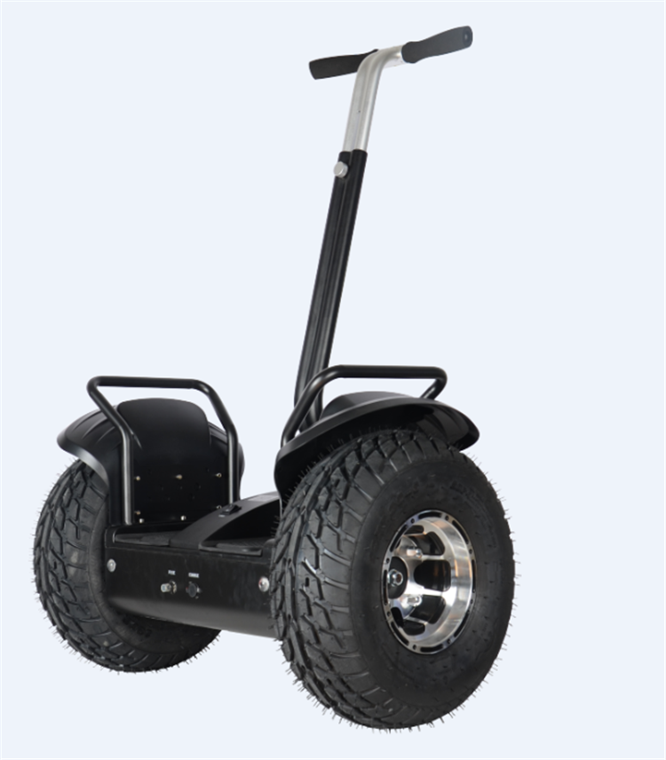 Super off road city balance car with handle 19 inch electric chariot 2 wheel skateboard stand up