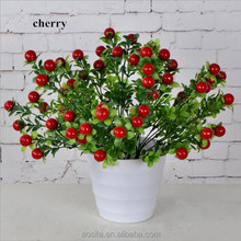 Cheap Wholesale artificial fruit and vegetable stand bonsai for christmas decoration