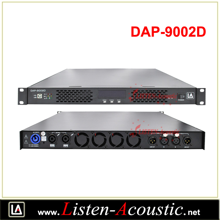 DAP-9002D Professional DSP Audio Powered Amplifier