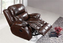 Genuine leather Chair Vibrator Recliner , Lazy Boy Recliner Chair