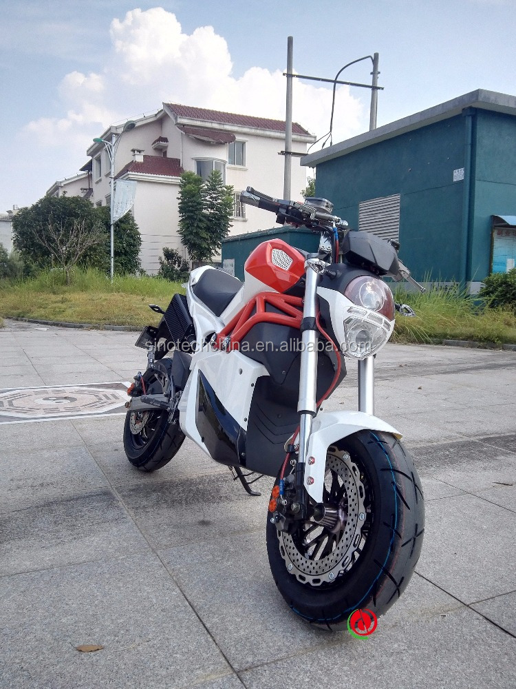 Hot factory price 72V 3000W racing electric motorcycle