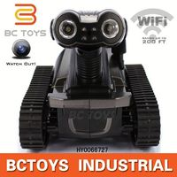 HOT! Iphone Android control spy rc tank with wifi camera bluetooth remote control car HY0066727