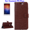 2016 NEW Arrvial PU Leather Case for Huawei P9 Plus with Holder and Wallet