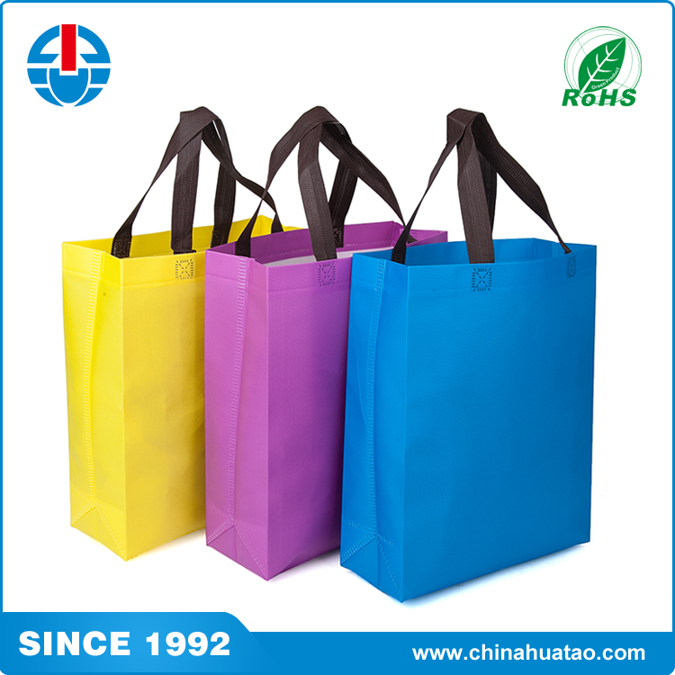 Fugang 2017 Trending Products Colorful Non Woven Cheap Printed Custom Shopping Bags