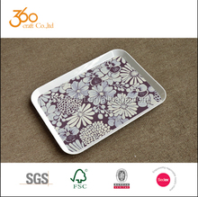 2015 hot selling manufacter wholesale square Melamine serving Tray