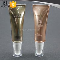 Elegant and beautiful cosmetic packaging tube wholesale factory
