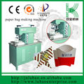 semi auto machine with CE certification for paper fast food packaging making