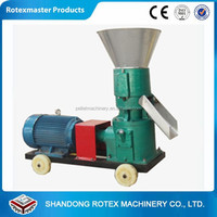 Home use flat die small animal feed pellet making machine/pellet mill for feed