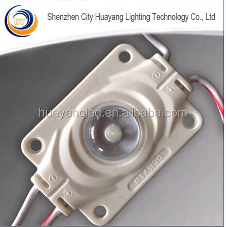 for signboards/show room China factory 160 degree 3535 chip Led Back light Module with lens